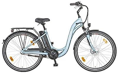 Prophete Damen E-Bike Navigator 1.3 Shimano Nexus 3G, Altblau/Matt, 45 cm, 52425-0111