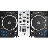 Hercules DJ Control Air+ S Series (2-Deck DJ Controller, XL-Jogwheels, Air Control, 8 Pads, Audio In/Out, DJUCED 40°)