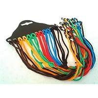 YLLY 12pcs Gafas Cuerda Lectura Cuello Cristal Correa Soporte Gafas Cuello Cuerda (Color al Azar)