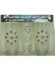 Cincinnati Reds MLB Pint & Shot Glass Gift Set