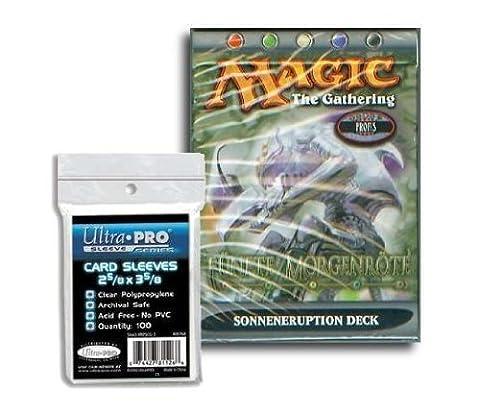 Magic fünfte Morgenröte Themendeck deutsch - Sonneneruption + 100 Kartenschutzhüllen