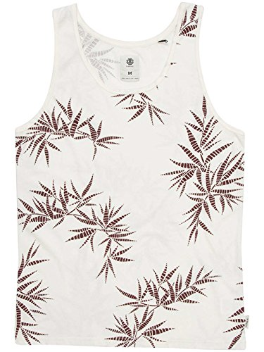 Element Herren Tanktop Bone White