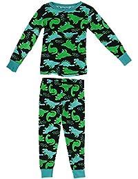 42c56869bac8 Dead Tired - Ensemble de Pyjama - Imprimé Animal - Garçon Multicolore  Multicolore Taille Unique
