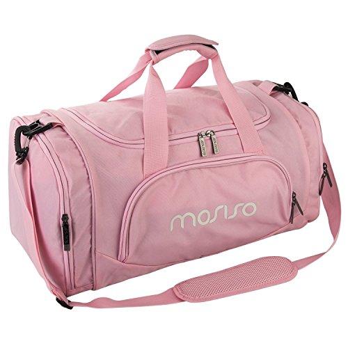 MOSISO Sport Gym Tasche Reisetasche mit vielen Fächern, Schultergurt, Tragegurt für Fitness, Sport und Reisen Sporttaschen mit Designs,...