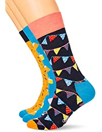 Happy Socks Swedish Edition Gift Box, Calcetines para Hombre, Multicolor, 41-45(Pack de 4)