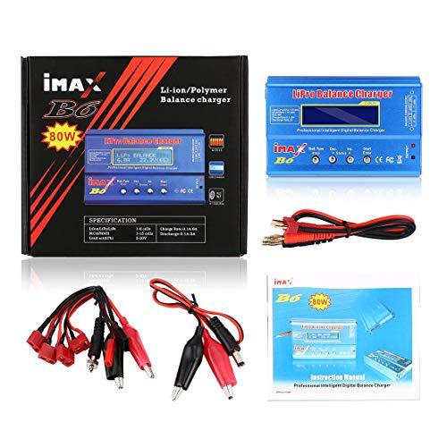 IMAX B6 Digital RC Lipo NiMh Batterie Balance Ladegerät AC Power 12 V 5A Adapter FÜR Fahrzeuge Fernbedienung Spielzeug Hubschrauber