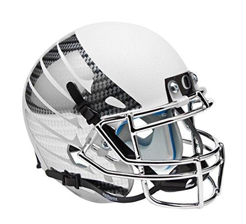 Schutt NCAA Oregon Ducks Wing Mini Helm, eine Größe, weiß