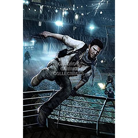 CGC enorme – Póster Uncharted 3 Drake 's Deception Drake – PS3 PS4 – uch033, papel, 24
