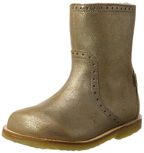 Bisgaard Unisex-Kinder Stiefel, Gold (6011 Gold), 30 (Stiefel Für Gold Kinder)