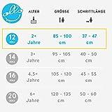 OLLO Bikes® - Laufrad 12 Zoll für Jungen und Mädchen von 2 – 4 Jahren - Engineered in Germany: Top-Qualität, Alu-Rahmen, hochwertige Alu-Komponenten, Ultraleicht nur 4,5 kg (Blau/schwarz) -