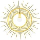@Beleuchtung Dekoration Wooden Chandelier - American Retro Restaurant Sonnen-förmiger Treppenhaus-Kronleuchter (größe : 65cm)