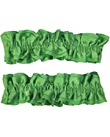 Costumes For All Occasions Bb01Gr Armband Garters Green Pair