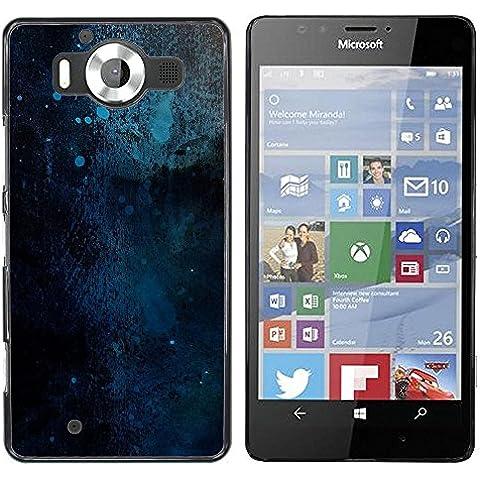 NOKIA Lumia 950 , Cassa Cover Guscio Di Plastica (Balene