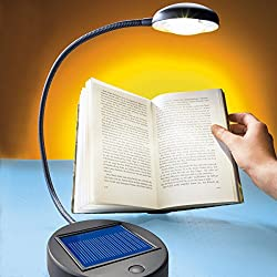 LED Heitronic LED desk lamp Solar, Nero, plastico, 36003