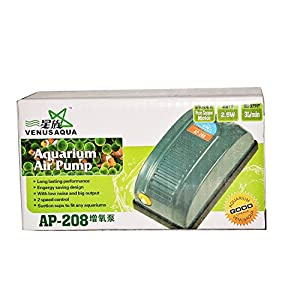 Colourful Aquarium #Ap208 – Aquarium Air Pump / Motor 1Way + 1 Mtr Air Tupe + 1 Air Stone
