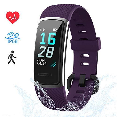LIFEBEE Fitness Armband, Fitness Tracker mit Pulsmesser