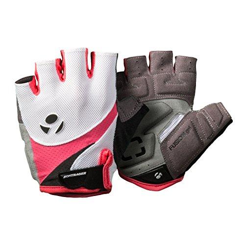 Bontrager Solstice Damen Fahrrad Handschuhe kurz weiß/pink 2016: Größe: L (8)