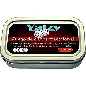 Brimtoy Juego de Dados Yatzy Tamaño Bolsillo / Viaje.