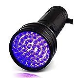 HKANG UV-Taschenfischen Schwarzlicht 51 LED 395NM Ultraviolet Blacklight Detektor Hund Urine Pet Stains Bett Bug