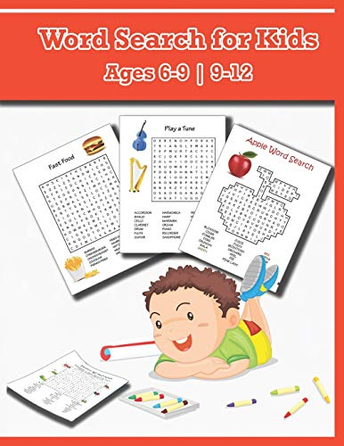 Word Searches For Kids Ages 6-9 9-12: Word Find for Kids, Improve Spelling, Vocabulary and Memory For Kids! (Gladstone Kalender)