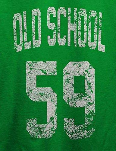 Oldschool 1959 T-Shirt Grün