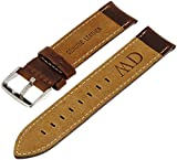 Daniel Wellington Herren Uhren-Armband Classic Bristol Leder dunkelbraun Schliesse silber DW00200023