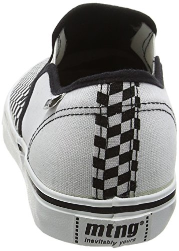 MTNG Attitude tennis - Sneakers ROMBOS NEGRO / CANVAS 2 BLANCO