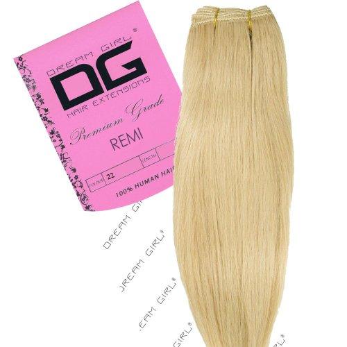 Dream Girl Extensions de cheveux sur trame Couleur 40,6 cm 22