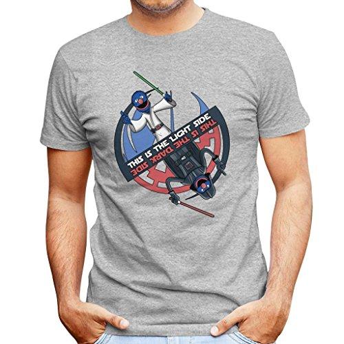 kside Sesame Street Star Wars Men's T-Shirt ()