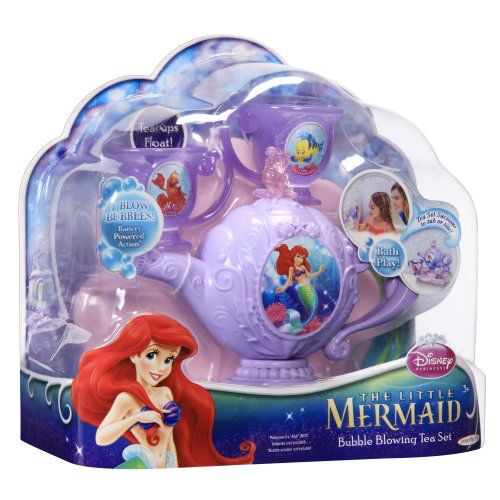 Disney Princess 61558 Jakks Pacific The Little Mermaid - Ariel's Bubble Blowing Tea Set