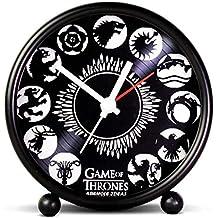 ASWHOLE Ideas Tv Series Games of Throne Alarm/Table Clock for Home Décor/Office