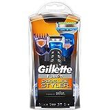 Gillette Fusion ProGlide Styler - Maquinilla de afeitar multiusos, recortadora, afeitadora y perfiladora