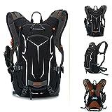Docooler 18L Fahrrad Rucksack/Bergsteigen Tasche mit Regen Abdeckung für Outdoor/Reise/Bergsteigen, Material: Nylon, Ultralight
