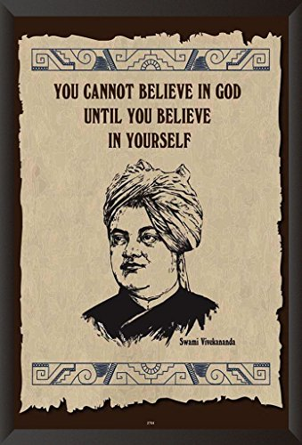 HungOver Swami Vivekanand Poster Home & Office Home & Office  available at amazon for Rs.799