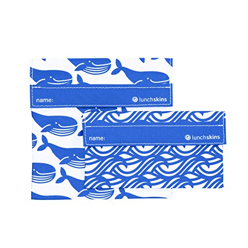 lunchskins-2-pack-velcro-bag-set-blue-whale-1-sandwich-1-snack
