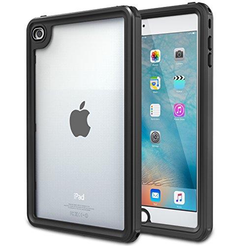 MoKo Hülle für iPad Mini 4, Wasserdichte Schutzhülle mit eingebaute Bildschirm Protector Stoßdämpfung Staubdicht untertauchbar Tasche für iPad Mini 4 7.9