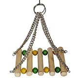 #9: Lakhubhai Bird Care Bird, Parrot, Parakeet, Budgie, Cockatiel Cage Hammock Swing Toy, Hanging Toy Quality Product