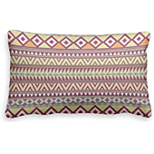 Bonny sui Pillow case Covers boho chic Geometric Aztec pattern Earth Colors Pillow case