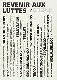 Agone, N° 26-27, 2002 - Revenir aux luttes