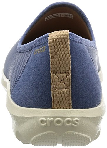CROCS - BUSY DAY STRETCH SKIMMER black graphite Bijou Blue/Stucco