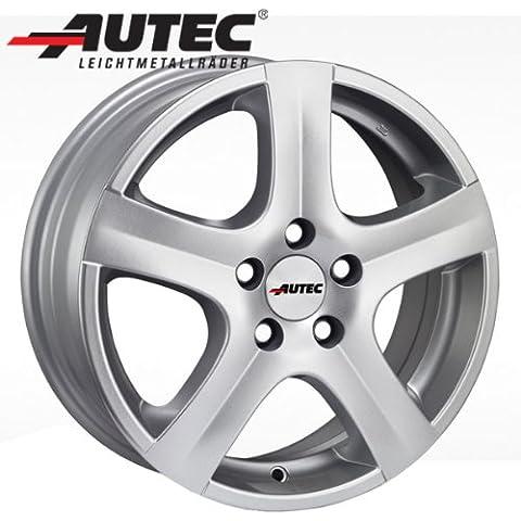 In alluminio cerchione AUTEC Nortic Mitsubishi Eclipse D307.0x 16brillante argento - Ruote In Alluminio Eclipse