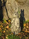 Peter rabbit stone garden ornament