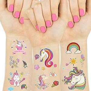 Unicornio Tatuajes Temporales Regalos de