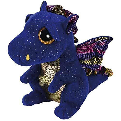 """Beanie Boo Dragon - Saffire - Blue - 15cm 6"""""""
