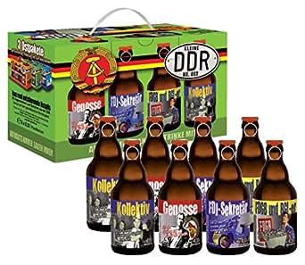 Bierundmehr DDR Bier im 8er Geschenkkarton Ostpaket Teil 1, 8er Pack (8 x 0.33 l)