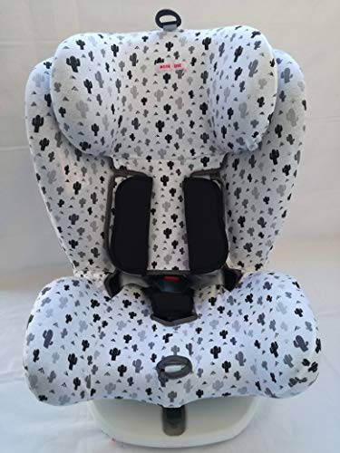 MOON-BEBE FUNDA PARA Star Ibaby - Silla de coche grupo 0+/1/2/3 Baby Auto Fix Noe (blanco)