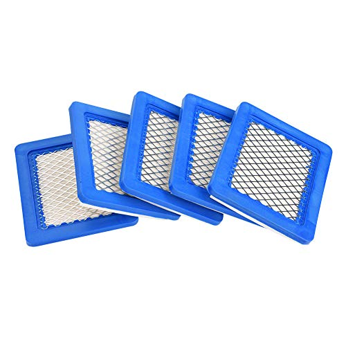 ViaGasaFamido 5Pcs Filtri Aria, compatibili per Tosaerba Briggs & Stratton 491588 491588S 399959 John Deere PT15853