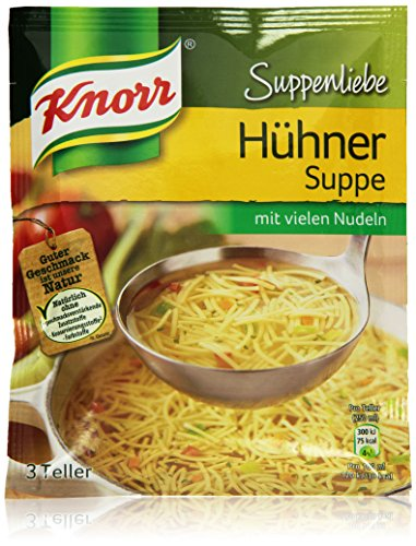 Knorr Suppenliebe Hühner Suppe 3 Teller (Suppe)