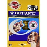 Pedigree Dentastix for Medium Dog 28 sticks 720 g (Pack of 4, Total 112 Sticks)