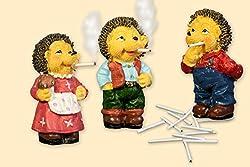 Räuchermecki mit 15 Mini Zigaretten- Der bekannte Kult-Igel aus DDR Zeiten - Preis für ein Stück